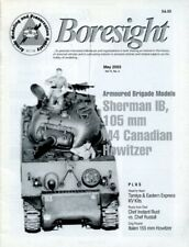 Boresight Sherman B 105 mm M4 Canadian Howitzer Vol.11 No.3 5.2003 MaY Magazine