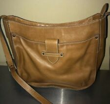 FRYE Crossbody Olivia SHOULDER Bag Brown Leather Purse Handbag Messenger