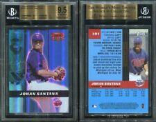 2000 BOWMAN'S BEST #191 JOHAN SANTANA BGS 9.5 ROOKIE CARD (8901)