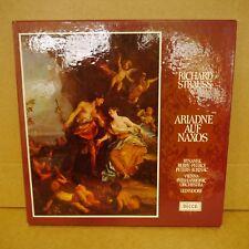 2BB 112-4 R STRAUSS Ariadne Auf Naxos VIENNA PHIL LEINSDORF DECCA 3LP BOX EX