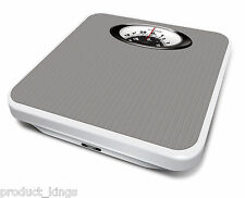 Salter Magnified Bathroom Scales Mechanical Weight Scales - Silver -  485 SVDR