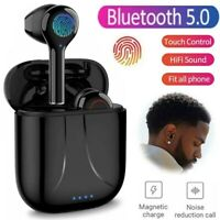 Noise Reduction Bluetooth 5.0 Headset Wireless Earphones Earbuds Stereo Sport US