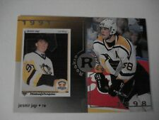 1998-99 UPPER DECK ROOKIE REWIND 1991 JAROMIR JAGR  NHL HOCKEY CARD # 27