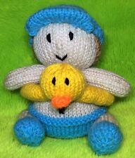Knitting Pattern-Apprendre à nager Chocolat Orange Housse/14 cms Beach Boy Toy