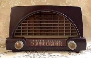 VINTAGE PHILCO TRANSITONE TUBE RADIO MODEL 50-526