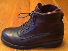 """Vtg. Chippewa #22300 6"""" Ankle Boot-Mens US Sz. 9 1/2 D-Oiled Leather-USA- NICE!!"""