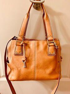 Fossil Medium Shoulder Handbag Tan Medium Leather Purse