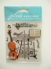 JOLEE'S BOUTIQUE STICKERS - Musical Trio - music instruments - violin