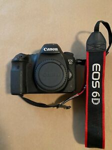 Canon EOS 6D Mark i *used, in good working condition*