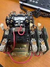 Allen Bradley Size 2 Motor Starter 3 3 Pole 25 Hp 600v 120v Coil 709 Cod804