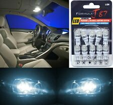 LED 5050 Light White 6000K 194 Ten Bulbs Front Side Marker Parking Replace JDM
