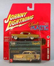 JOHNNY LIGHTNING 1958 Chevrolet Impala (Gold) 1/64 Scale Diecast Model NEW, RARE
