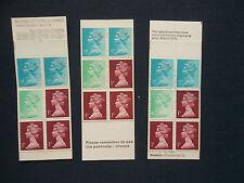 Fa1 Fa2 Fa3 10P Vending Machine Machin Stamp Booklets Umfb1 3 Booklets