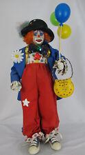 Vintage Gorgeous 1970'S-1980'S Danbury Twinkles The Circus Porcelain Clown Doll
