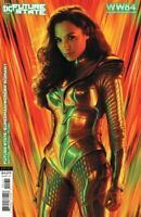 Future State Superman / Wonder Woman #1 1984 Movie Poster Variant DC Comics 2021