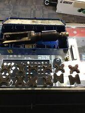Thomas & Betts Tbm12 Hydraulic Crimping Tool W/dies & Case Crimper