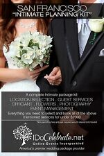 I Do Celebrate San Francisco Wedding Ceremony Kit - Intimate Package