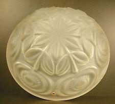 Luste suspension ou plafonnier en verre époque art-déco ceiling chandelier c1930