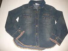 IKKS tolle Jeans Bluse / Jacke Gr. 116 / 122 !!