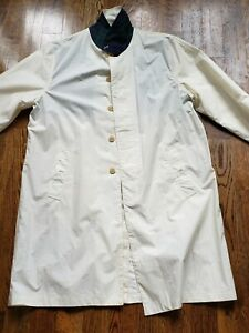 NWT Polo Ralph Lauren Ivory Sea Island Trench Coat Size Large Retail $145.00