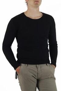 Maglia Daniele Alessandrini Sweater Autunno Inverno Uomo Nero FM63818M3105 1