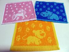 SET 6 tlg bunte Kinder Waschlappen Seiftuch Seiftücher Kinderwaschlappen ÖKO-TEX