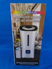 4.0 L Intelligent Ultrasonic Cool Mist Air Humidifier 7 Color Charging LED Light