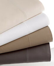 Hotel Collection 700 Thread Count Solid Queen Flat Sheet Ivory NIP MRSP $200