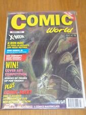 COMIC WORLD #13 MARCH 1993 X-MEN IRON MAN ALIEN JOHN ROMITA JR UK US MAGAZINE =
