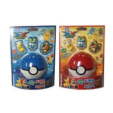 Pokemon Suction Figure Monster Ball & Coin Bank (Random) : 3 Figure Toys 1 Set