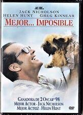 MEJOR... IMPOSIBLE de James L. Brooks. Tarifa plana en envío dvd España, 5 €