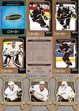 2007-08 OPC O-Pee-Chee Anaheim Ducks Complete Team Set w/ Foil CL (25)