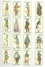 CIGARETTE CARDS. John Player. CHARACTERS FROM THACKERAY.(1913).(Full Set of 25).