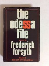 The Odessa File By Frederick Forsyth 1972 Book Club Edition (HC)- Good