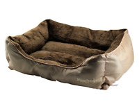 MaxiPet Deluxe Soft Washable Cat Pet Kitten Bed Cushion with Fleece Lining