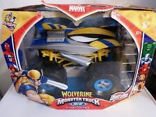 Marvel Heroes Radio Controlled R/C Wolverine 1:12 Monster Truck New 2006 RC