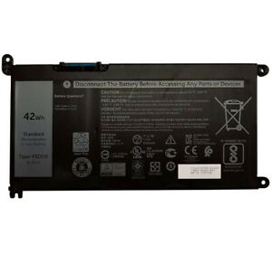 REPLACEMENT YRDD6 BATTERY FOR DELL INSPIRON 5482 5493 5593 VOSTRO 5481 5581 42WH