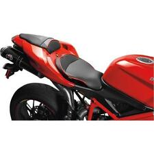 Sargent World Sport Perf Seat W/Match Rear Cover Blck W/Blck For Ducati 848-1198