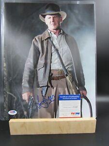Harrison Ford SIGNED Indiana Jones Autograph 11x14 Star Wars / PSA COA I72347