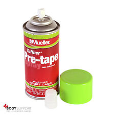 Mueller pre NASTRO SPRAY 118ml Aderente Secure Wraps reggiatrice Adesivo Di Supporto