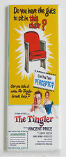 The Tingler FRIDGE MAGNET (1.5 x 4.5 inches) insert movie poster theater chair