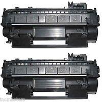 2PK HP CE505X High Yield Black Laser Toner Cartridge for P2055d P2055dn P2055X