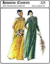 Traditional Muumuu w/Front Tucks, Victoria Jones Collection Sewing Pattern S-2XL