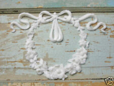 Shabby n Chic Large Wreath * Furniture Appliques