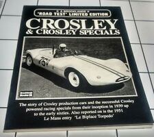 CROSLEY CAR BOOK HOTSHOT PORTFOLIO PICKUP BROOKLANDS HOT SHOT WAGON RACING