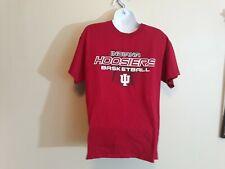 Gildan Men Red Indiana Hoosiers Basketball Short Sleeve T-Shirt Size Medium