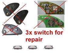 3x alfa romeo 147 156 gt pulsante per la riparazione chiave telecomando