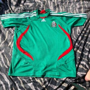 Vintage Mexico national team Adidas football shirt 2006 XL Man
