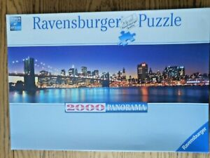 Ravensburger 2000 piece Panorama Puzzle New York City Skyline