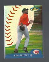 KEN GRIFFEY JR. 2000 Topps Finest #146  ACTION REFRACTOR  Cincinnati Reds